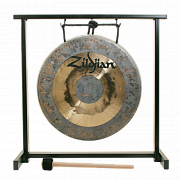 ZILDJIAN P0565 12` TRADITIONAL GONG AND STAND SET