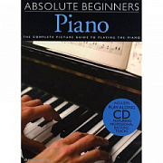MusicSales AM986425 - ABSOLUTE BEGINNERS PIANO BOOK ONE PF BOOK/CD Мюзиксэйлс